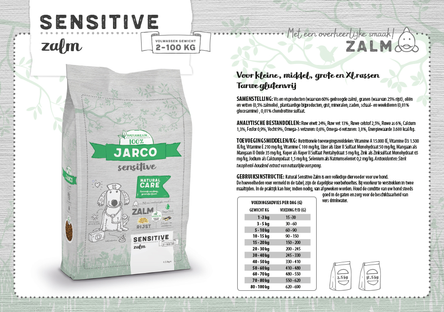 Natural Sensitive Zalm